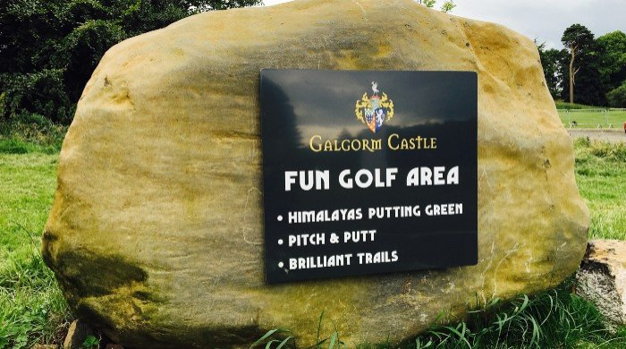 Fun Golf Area